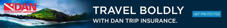 Buy DAN Travel Insurance before your next trip!